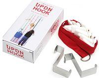 Wholesale UPDN HOOK Adjustable Bag Rack With Door Creative Hook with Multipurpose Back Type Hanging Hooks AA