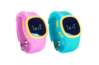 Wholesale Kids Child Baby GPS smart Watch Phone Tracker With Wifi GPS LBS Position And OLED Color Screen