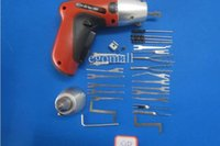 Wholesale Electric lock Pick Gun New cordless pick gun auto locksmith tool from egomall S052 good quality