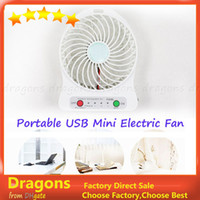 Wholesale Mini Micro USB Mobile Phone Fan Cool Portable Lithlum Battery Electric Fan Power banks in Colors