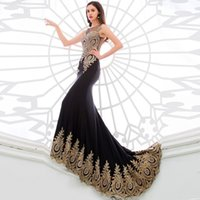 Wholesale Hot sale Black Wine Red Long sleeveless Mermaid Evening Dresses Women Formal evening gown crystal stones Hand Beaded In Stock