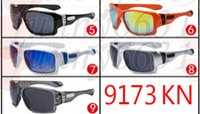 al por mayor ciclismo gafas de sol de los deportes de montar en bicicleta gafas-La bicicleta de los hombres de la marca de fábrica se divierte las gafas de sol que completan un ciclo las gafas de sol de los vidrios UV400 de ciclo de los anteojos protectores de ciclo de los gafas A +++ libera la nave