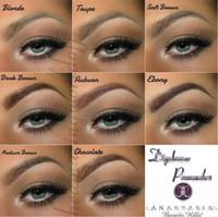 Wholesale HOT Ana DIPBRO Pomade Medium Brown Waterproof Makeup Eyebrow g Blonde Chocolate Dark Brown Ebony Auburn Medium Brown TALPE gift