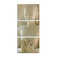 Cheap Three-picture Combination Figure Oil Paintings Best Oil Painting Abstract Buddha Painting