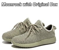 Wholesale Authentic Y BOOST Negras Moonrock Kanye West Y Low Cut Sneakers Fashion Outdoor Boots Y Boost Men Women Size US