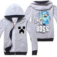 autumn crafts kids - Cartoon Mine Boys craft Fall Pullover Boys Coat years Kids Clothes Big Boys Hoodies Sweatshirts On Sale