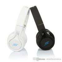 SMS Audio STREET by 50 écouteurs sans fil avec écouteurs SM-818 Écouteurs stéréo Fashion Sport Studio écouteurs de musique pour iPhone 6 Smart iPAD 1pc
