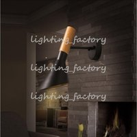 bathroom light cord - new design Wooden Adjustable Direction Wood Iron Wall Light Sconces Bedroom Bathroom Bar Lamp Modern Rotatable Led Wall Lamps