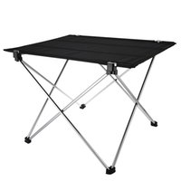 Wholesale Super Quality Aluminum Alloy Durable Table Folding Desk Portable Outdoor Camping Accessory