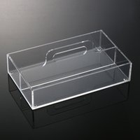 acrylic organiser - Packaging Cosmetics New Anti Scratch Fashion Acrylic Clear Makeup Organiser Cosmetic Display Jewellery Storage Case