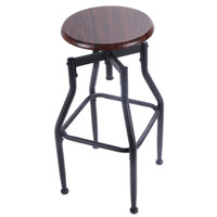 bar stools design - New Bar Stool Metal Design Wood Top Height Adjustable Swivel Industrial