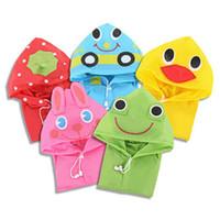 Wholesale New Kids Rain Coat children Raincoat Rainwear Rainsuit Kids Waterproof Animal Raincoat Hot Sale