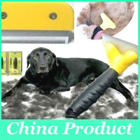 Wholesale Pet Brush Dog Cat Pet Grooming Tool Brush Hair Comb for Dogs Cats Remove Float Hair Tool Pet Supplies S M L