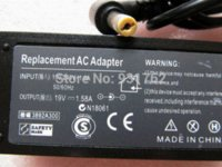 acer netbook chargers - 1pc AC adapter power charger replacement DC x1 mm connector cable for Acer netbook amp Dell V A