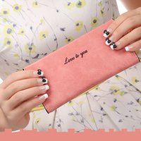 Wholesale 2016 New Ultra Thin Womens Long Wallets Luxury Brand European Lady Colorful Plain Square PU Leather Ziper Open Girls Purse With Card Holders