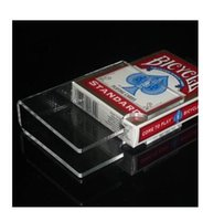 best transparencies - Transparency PVC card clips card holder mm T Magic accessories Best card clips card magic magic accessory