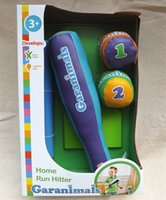 baseballs gift items - Child sport toy home run hitter baseball set toy baby movement ability developing toys Children s fitness toy kids birthday gift