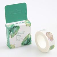 Wholesale 1 Pc Pack Size Mm m Diy Leaf Floral Cat Japanese Paper Washi Tapes Masking Tape