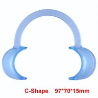 Wholesale 1pcs C Shape BlueTeeth Whitening Intraoral Cheek Lip Retractor Mouth Opener Feature