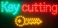 Wholesale 2016 Special Offer Hot Sale Graphics X19 Inch indoor Ultra Bright key cutting business shop Led sign