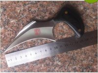 al knife - handmade Custom Al mar karambit claw Talon Blade Outdoor hunting camping survival knives microtech fox spyderco knife knives