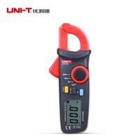 Wholesale UNI T UT210A Clamp Multimeter AC A A A Auto Range Current Tester Input Protection LCD Backligt Portable For Elec Measure