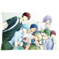 basket case gift baskets - Custom Friend Gift Anime Kuroko No Basket Cool x75cm Bedding Fashion Pillow Case For Sofa Bed Decor