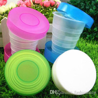Wholesale Creative Travel Camping Collapsible Outdoor Folding Cup Retractable Drinking Water Cup