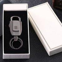 Wholesale 2016 popular fashion new car key button USB charging smart lighter key button custom creative gifts