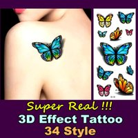 beach sex - Real D Temporary Body Art Flash Tattoo Stickers cm Summer Beach Style Waterproof Tattoo Henna Tattoo Adult Sex Products