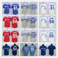 Wholesale Top Quality Toronto Blue Jays Roberto Osuna Aaron Sanchez Russell Martin Jerseys Blank jersey