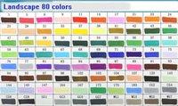Wholesale 80 colors touch four white marker acrylic marker line pen pro art marker brush pen permanent markers micron pens watercolor felt