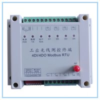 Wholesale 4 way Wireless I O Module for remote Pump Control km km distance ON OFF Control