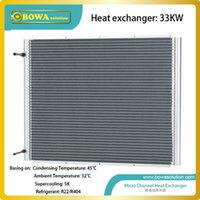Wholesale 33KW U shape condenser without fan for industrial chiller