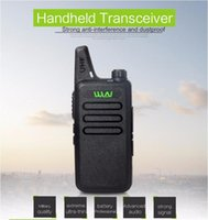 Wholesale WLN Ultra Thin Mini Walkie Talkie Professional Long Range Handheld CB Radio Transceiver Uhf Wln Kd C1 For Two Way Radio Communicator
