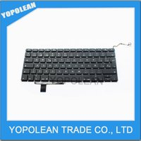 Wholesale NEW For Apple MacBook Pro A1297 quot Unibody SP Spainish Keyboard High Quality