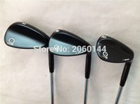 Wholesale Gold SM5 Wedges SM5 Golf Wedge Clubs OEM Golf Clubs quot quot quot Degree Regular Stiff Steel Shaft With Head Cover