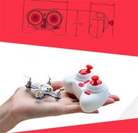 Wholesale HUBSAN Q4 H111 Mini Quadrocopter RTF G CH Remote Control Toys RC Helicopter Drone White F15316