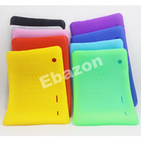 Cheap Colorful 10 Inch Tablet PC Silicone Case Shockproof Protective Back Cover For 10 Inch A33 A23 Android Tablet PC