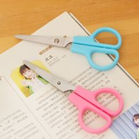 Wholesale Deli and Pai Deli stationery scissors ribbon candy students protective sleeve children s hand scissors