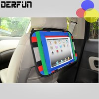 Wholesale Auto Car Storage bag with the car seat back iphone Ipad packet Hanger Back Car Seat Organizer Holder Backseat Sundries