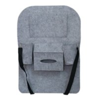 Wholesale New Multi Pocket Felt Organiser Car Styling Back Seat Storage Auto Pouch Bottle Magazine Cup Food Bag for iPad iPhone Cell Phone