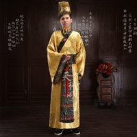 ancient chinese robes - Chinese ancient costumes Male costume robes Qin dynasty Emperor costumes hanfu tang suit oriental costumes