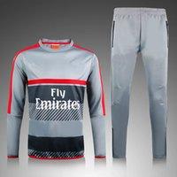 Wholesale 2016 new Arsenal jacket with pants ozil sanchez walcott winter training suit