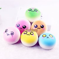 bakery movie - 30pcs CM PU NEW Update Styles BIG Sweet Bakery Scented Face Bread Bun Squishy Charm