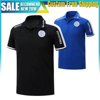 Wholesale 2016 Leicester City POLO Jersey VARDY home blue away black