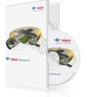 Wholesale Factory Full cracked Tekla Structures v20 v19 English for win version DVD English Language software Plastic color box packaging