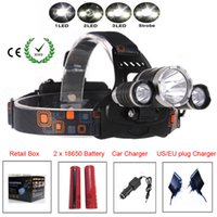 best rechargeable c batteries - Best C XM L T6 Lumen LED Headlamp Headlight Caming Hunting Head Light Lamp Modes Battery AC Car Charger