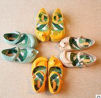 banana jelly - Yellow Banana Cute Children Girl Jelly Shoes Fashion Green Banana Children Girl Sandals Children Shoes Accessories