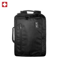 Wholesale Swissgear Classic quot Men s Laptop Briefcase for Business Brand Notebook Computer Bagpack High Quality Black Laptop Sleeve